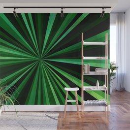 North Texas Green Sun Wall Mural
