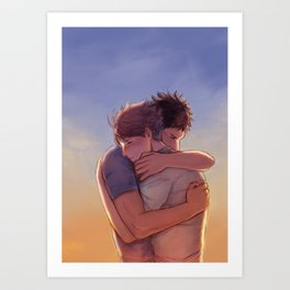 Hold Close Art Print