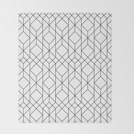 Art Deco Geometry 5 Throw Blanket