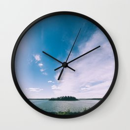 Elk Island National Park Wall Clock