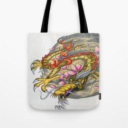 Warp Dragon Tote Bag