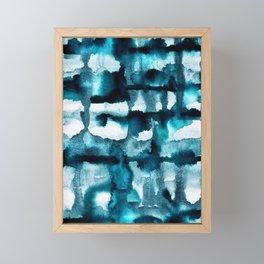 Watercolor 03 - Wild Sea Framed Mini Art Print