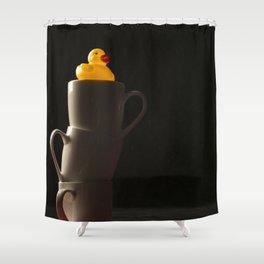 Rubber Duck Still Life Shower Curtain