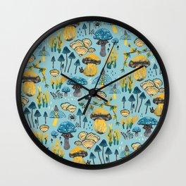 Fungi Farmer land (Mushroom land)- BY Wall Clock