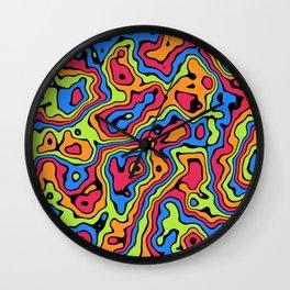 Liquid Summer Wall Clock