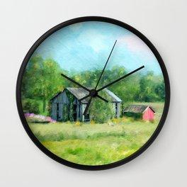 Ohio Barn Wall Clock