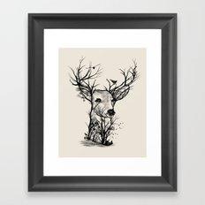 Wild Buck Framed Art Print