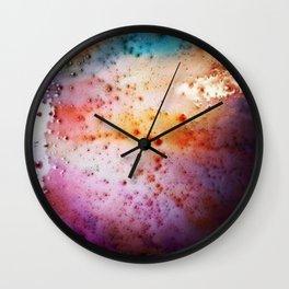 Liquid colour Wall Clock