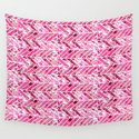 Cherry Bomb Chevron by gaiacornwall