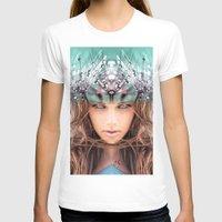 flora T-shirts featuring Flora by Cash Mattock