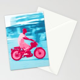 Motorbike Guy Stationery Cards
