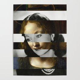 Leonardo Da Vinci's Madonna from The Virgin of the Rocks & Vivien Leigh Poster