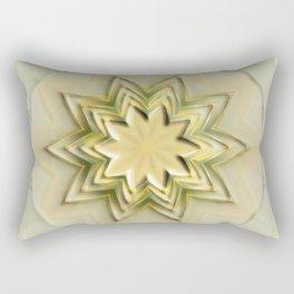 The yellow Star Rectangular Pillow
