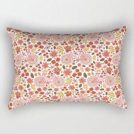 Springtime Print Rectangular Pillow