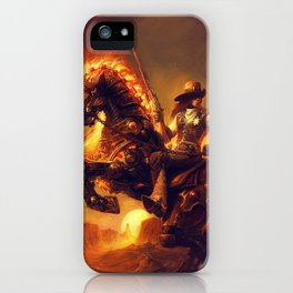 Steampunk Marshal iPhone Case