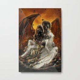 Fallen (Revisited) Metal Print