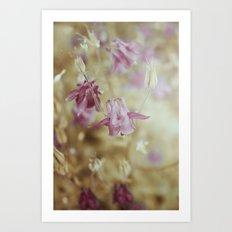 Pale Beauties Art Print