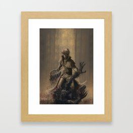The Hunt and The Prey Framed Art Print
