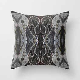 Ghosts Emerging Throw Pillow