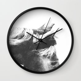 Horse Head III Wall Clock