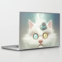 kitty Laptop & iPad Skins featuring Release the Odd Kitty!!! by Dr. Lukas Brezak