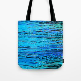 ripples on imagined water Tote Bag