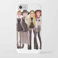 coven iPhone & iPod Cases featuring Coven by archibaldart