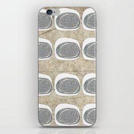 Stone Rows iPhone Skin