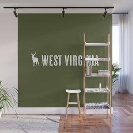 Deer: West Virginia Wall Mural