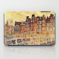 amsterdam iPad Cases featuring Amsterdam by takmaj