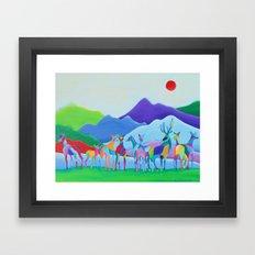 Hiraeth Framed Art Print