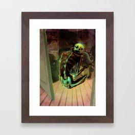 Preta/Jikininki Framed Art Print