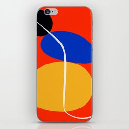 Red Zen Minimal Abstract iPhone Skin