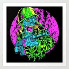 Corporal Corpse Art Print