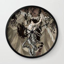 Midnight Circus: Siren's Tent Wall Clock