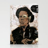 tom waits Stationery Cards featuring Tom Waits? by Andy Christofi