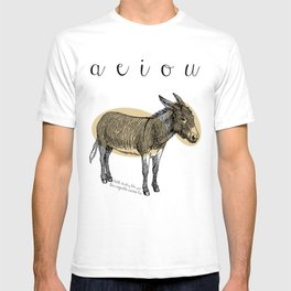 A  e  i  o  u    borriquito como tú T-shirt