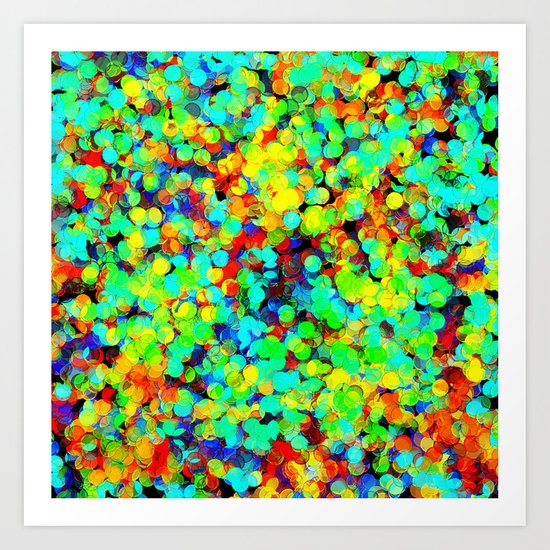 I Want To Be A Rainbow But I Don't Know How Art Print