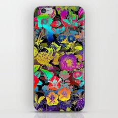 Lsd Floral Pattern iPhone & iPod Skin