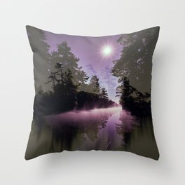 Washago Experiment (Dark) Throw Pillow