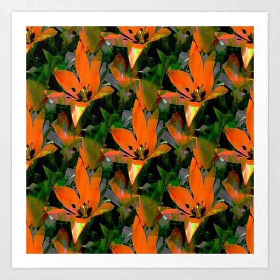 Loving Tulips... Art Print