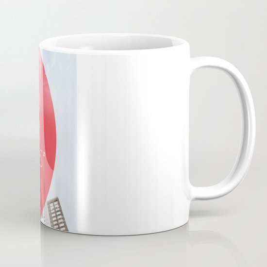 heart in a box upstairs Mug