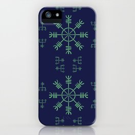 Nordic pattern iPhone Case
