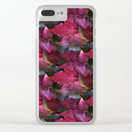fall is coming -16- Clear iPhone Case
