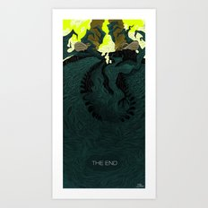 The End (Part 2) Art Print