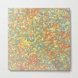 Colorful Pebble Mosaic Metal Print