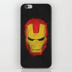 Iron Man splash iPhone & iPod Skin
