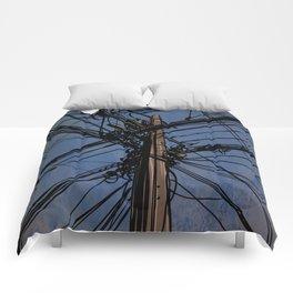 wires 02 Comforters