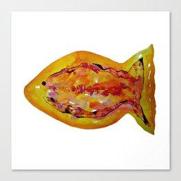 Watercolor Fish I Canvas Print
