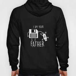 Funny Floppy Disk to USB I Am Your Father Hoody
